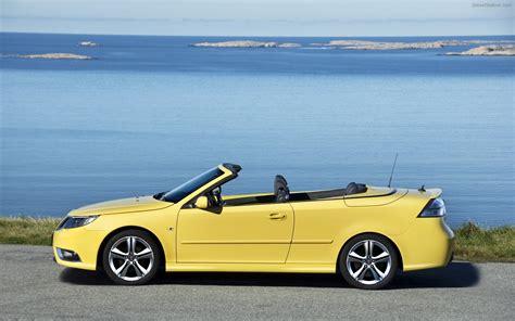 2008 saab 9 3 convertible yellow edition widescreen