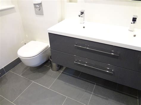 grey slate tiles for bathroom tiny hall bath subway tile dark floors dark vanity 25 best