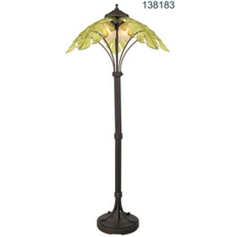 palm tree floor l lowes shop bel air lighting green outdoor l at lowes com