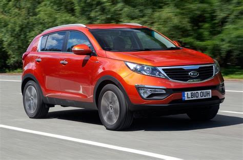 Kia Sportage New Shape Kia Sportage Review Autocar
