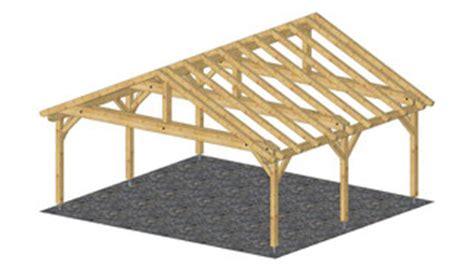 doppelcarport holz mit satteldach bauanleitung bauplan holz - Carport Holz 4x4