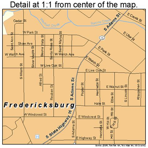 map of fredericksburg texas fredericksburg texas map 4827348