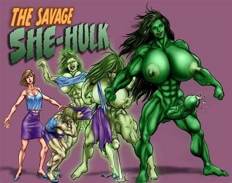 Random Nude Savage She Hulk