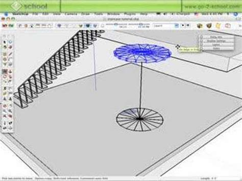 tutorial google sketchup 8 em portugues sketchup create staircases pt 2 sketchup show 38