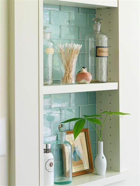 bathroom wall niche 26 simple bathroom wall storage ideas shelterness