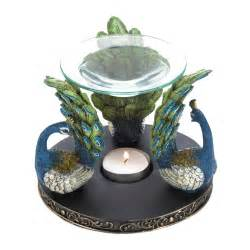 peacock home decor wholesale peacock plume oil warmer all wholesale gifts