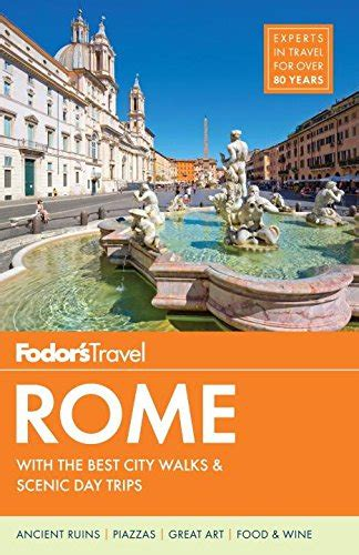 fodor s rome 25 best color travel guide books the revealed rome handbook updated expanded and new for