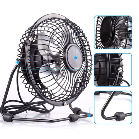 Mini Portable Usb Fan Desktop Desk Silent Cooler