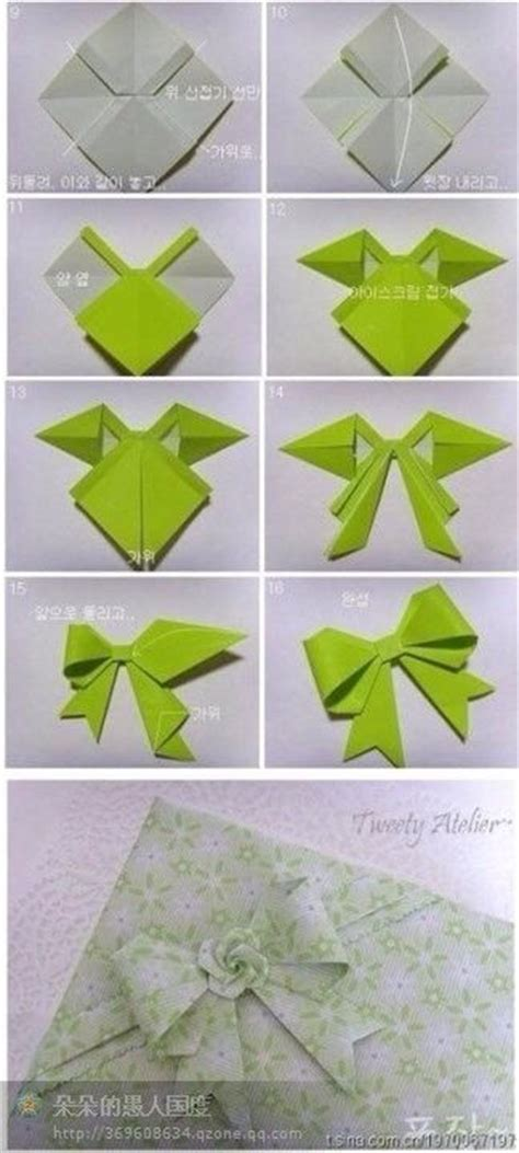 How To Make A Origami Crossbow - 25 best ideas about origami bow on paper bows