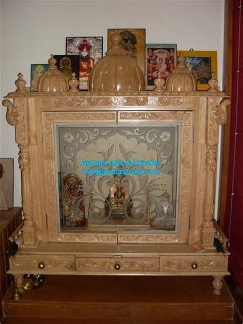 how to decorate a temple at home wooden mandir wooden temple design wooden temple for home manufacturer from udaipur