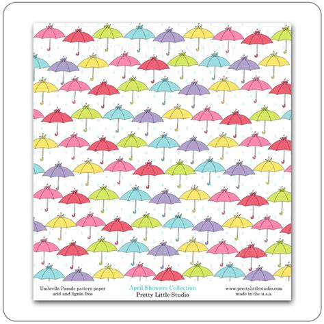 pattern for paper umbrella pretty little studio april showers reveal pattern paper