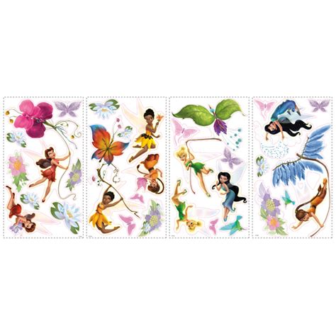tinkerbell wall sticker tinkerbell removable decals potty concepts