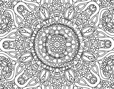 interesting coloring pages for adults coloring pages free coloring pages of detailed abstract