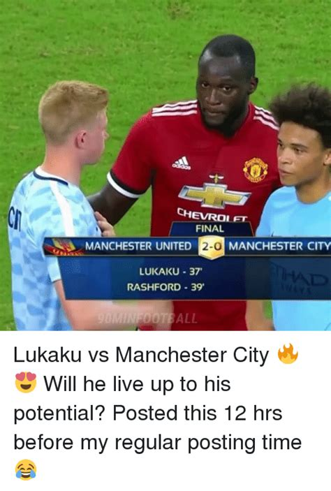 Manchester United 37 chevrolet manchester united 2 0 manchester city
