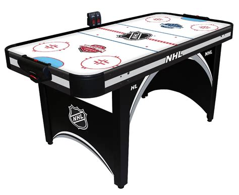 table hockey nhl 66in air powered hockey table with bonus table tennis shop your way shopping