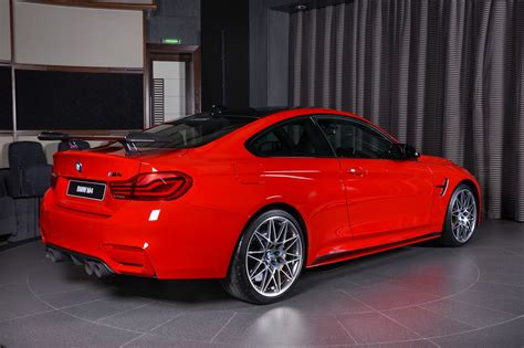 red bmw 2017 ferrari red bmw m4 oozing appeal with m performance
