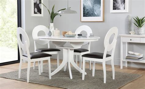 white dining room table and 6 chairs hudson white extending dining table and 6 chairs set flint only 163 449 99 furniture choice