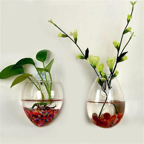 wall glass terrarium water plants clear indoor hanging