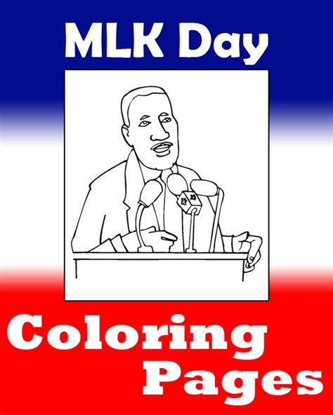 mlk day coloring pages printable coloring pages