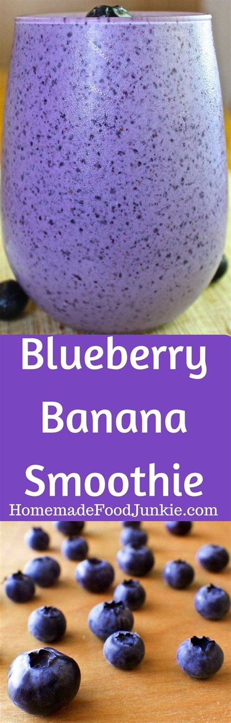 Blueberry Banana Detox Smoothie by Best 25 Jump Start Diet Ideas On Workout Diet