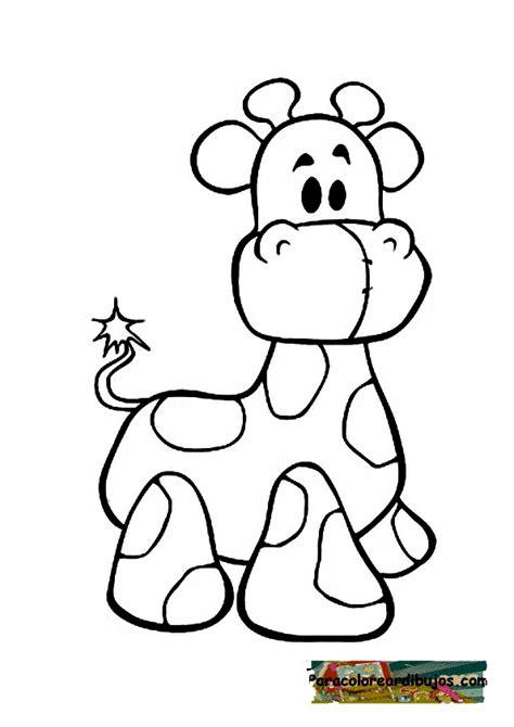 imagenes jirafas colorear jirafas animadas para colorear imagui
