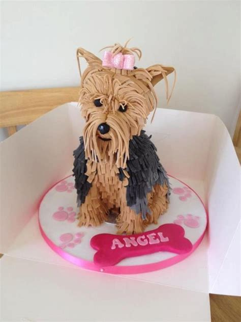 how to make yorkie cupcakes cake by holmesmadecakes yorkie cakes cupcakes and pops cakes