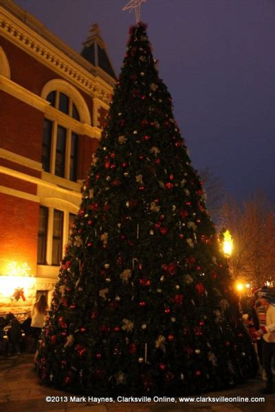 tree lighting ceremony in clarksville tn montgomery county tree lighting ceremony was held saturday clarksville tn