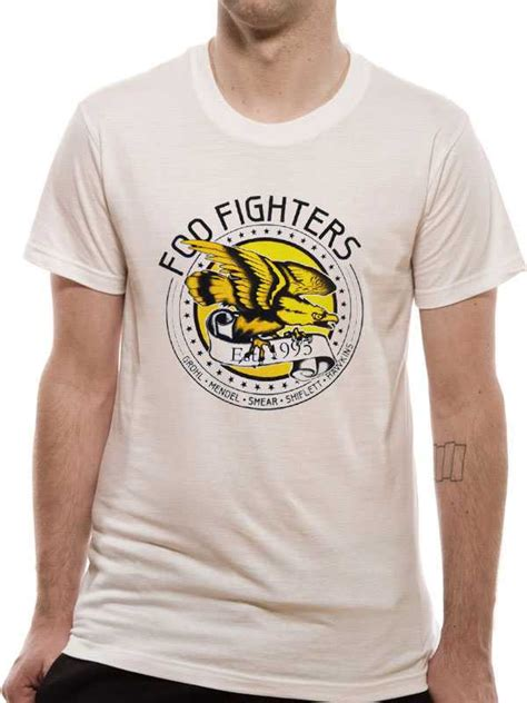 T Shirt Foo Fighters Zero X Store foo fighters eagle t shirt tm shop