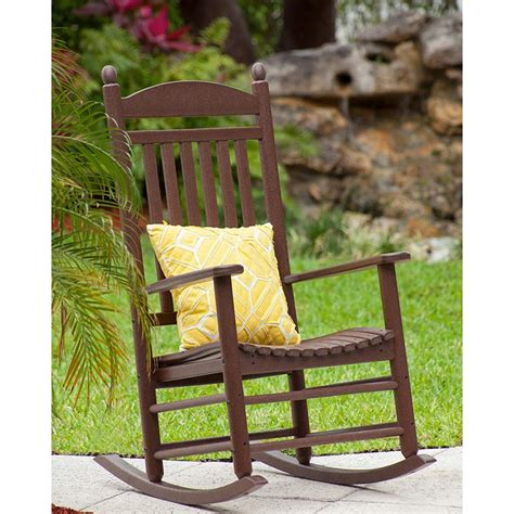 green room rocking chair jefferson plastic outdoor rocking chair polywood