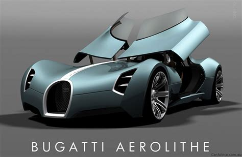 futuristic cars bugatti aerolithe concept photos 1 of 17