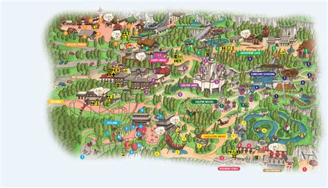 theme park uk map new gulliver s valley theme park planned