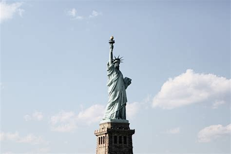 Amerika Newyork Times Liberty Patung Liberty United State gambar langit new york manhattan monumen patung