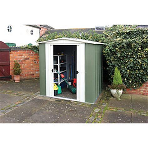 Wickes Metal Sheds by Metal Sheds Garden Sheds Greenhouses Wickes Co Uk