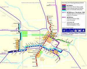 Houston Metro System Map by Metro Houston Map