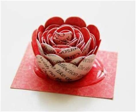 cara membuat montase dari majalah kreasi kerajinan bunga dari kertaskreasi dan kerajinan
