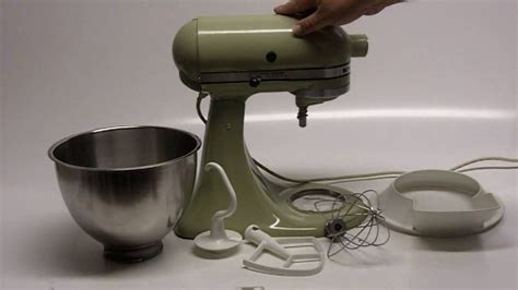 KitchenAid K45 Stand Mixer   YouTube