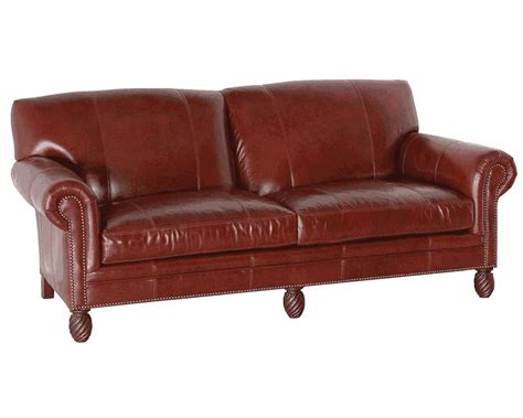 classic sofas and chairs classic leather bonaire sofa 2208 traditional leather