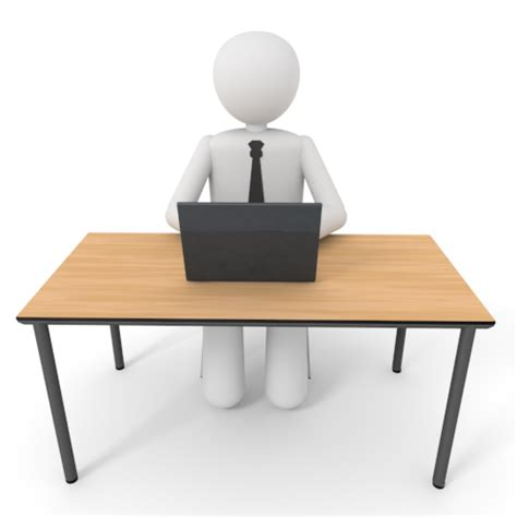 At Desk sitting at desk clipart clipartsgram