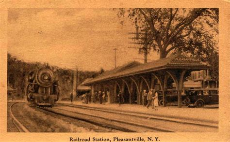 Pleasantville Post Office by Postcards From Westchester County New York
