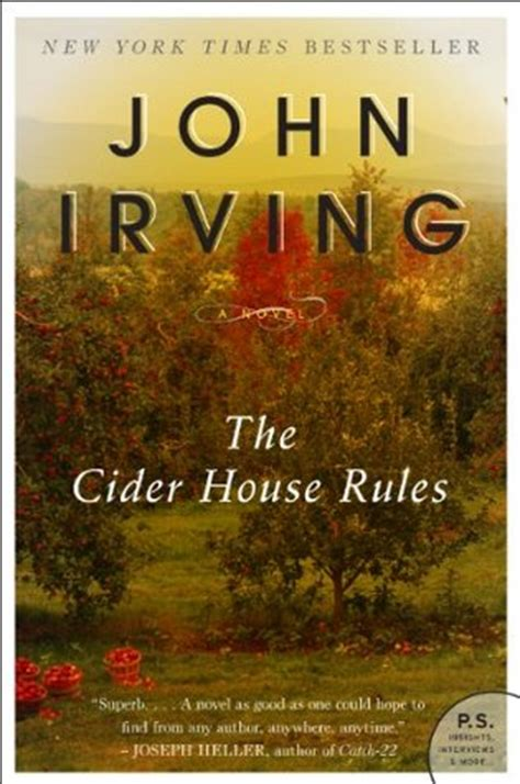 the cider house rules book the cider house rules by john irving