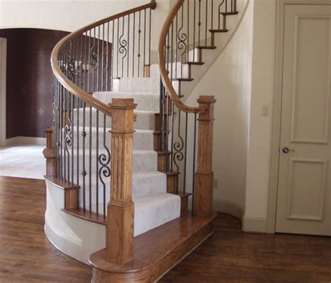Cheap Banisters home stair remodel traditional staircase houston by cheap stair parts