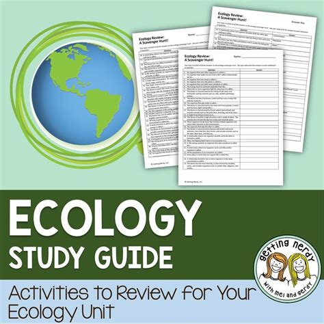 Ecology Study Guide Worksheet by 88 Best Ecology Images On Science