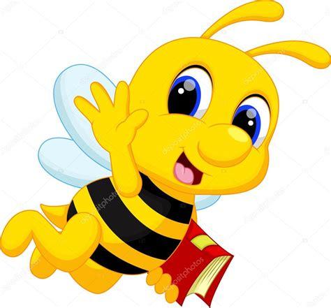 imagenes html animadas caricatura lindo abeja vector de stock 68527943