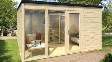 mobiles gartenhaus kosten gartenhaus mit sauna selber bauen