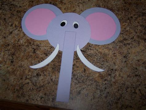 elephant craft for e is for elephant craft elephant theme