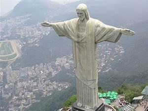 статуя в рио де жанейро рисунок