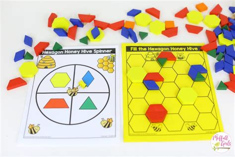 pattern matching in hive kindergarten math curriculum shapes