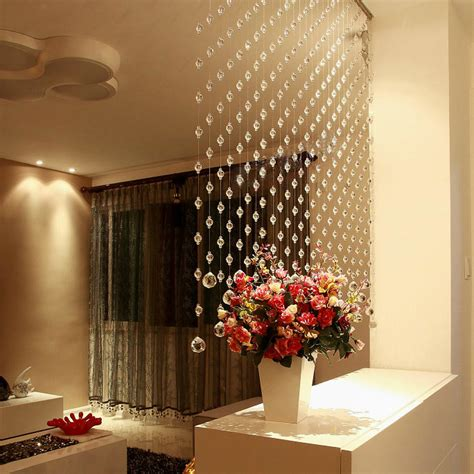 home decor hanging beads bead curtain hot sale crystal bead curtains hotel office