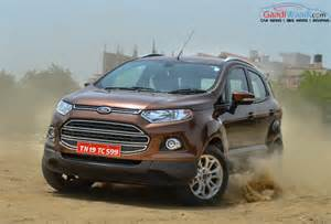 Ecosport Ford Ford Ecosport Remains Most Exported Car From India