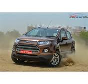 Ford EcoSport Gets Dual Front Airbags As Standard The American